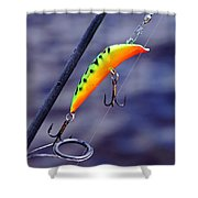 Canadian Wiggler Shower Curtain
