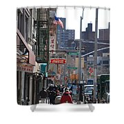 Canal And Eldridge Shower Curtain