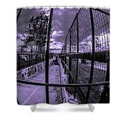 Canal De Lachine Underpass  Shower Curtain