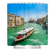 Famous Canal Grande In Venice Shower Curtain