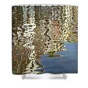 Canal House Reflections Shower Curtain by Joan Carroll