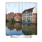 Channel In Ghent Shower Curtain