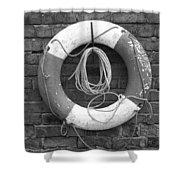 Canal Lifesaver Shower Curtain