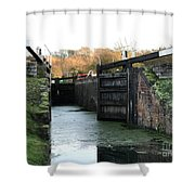 Canal Rocks Shower Curtain
