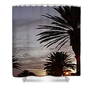 Canal Street At Dusk Shower Curtain