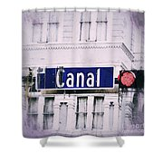 Canal Street In The Big Easy Shower Curtain