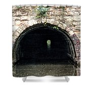 Canal Tunnel 2 Shower Curtain