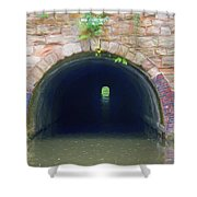 Canal Tunnel 3 Shower Curtain