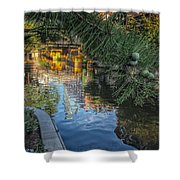 Canal View  Shower Curtain