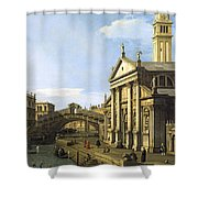 Canaletto Shower Curtain