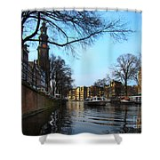 Canals Of Amsterdam IIi Shower Curtain