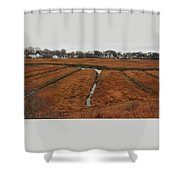 Canals To The River Shower Curtain