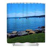 Canandaigua Lake  Shower Curtain