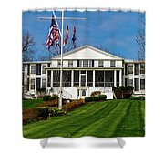 Canandaigua Yacht Club Shower Curtain