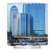 Canary Wharf 10 Shower Curtain