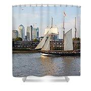 Canary Wharf 5 Shower Curtain