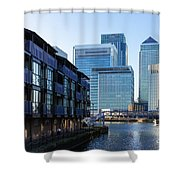 Canary Wharf 7 Shower Curtain