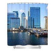 Canary Wharf 9 Shower Curtain