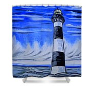 Canaveral Lighthouse Shower Curtain