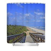 Canaveral Walkway Shower Curtain