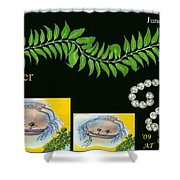 Cancer With William Baumol Shower Curtain