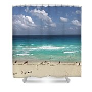 The Best View Of The Beach Shower Curtain