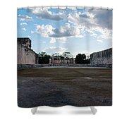 Cancun Mexico - Chichen Itza - Great Ball Court - Open End Shower Curtain