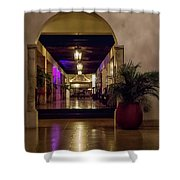 Cancun Mexico - Chichen Itza - Mayan Dining Hall Shower Curtain