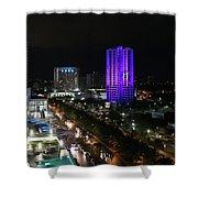 Cancun Mexico - Downtown Cancun Shower Curtain