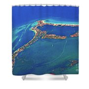 Cancun Wide By Air Shower Curtain