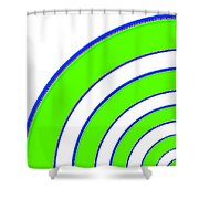 Candid Color 13 Shower Curtain