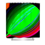 Candid Color 5 Shower Curtain