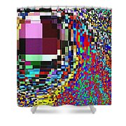 Candid Color 7 Shower Curtain