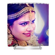 Candid Wedding Photography Pronojit Click Shower Curtain