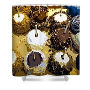 Candied Apples Shower Curtain