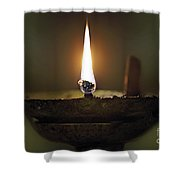 Candle 2 Shower Curtain
