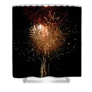 Candle Burst Shower Curtain