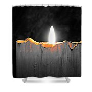 Candle Color Shower Curtain