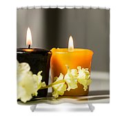 Candle Shower Curtain
