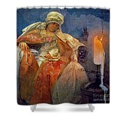 Candlelight 1911 Shower Curtain