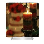 Candles And Cake Shower Curtain