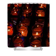 Candles For Mother Maria Shower Curtain