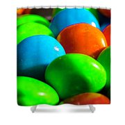 Candy Coated Shower Curtain