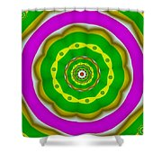 Candy Colors Liberation Shower Curtain