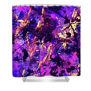 Candy Colours Abstract Shower Curtain