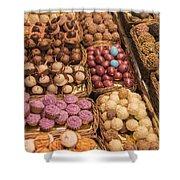 Candy Delights - La Bouqueria - Barcelona Spain Shower Curtain
