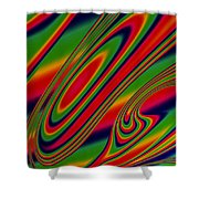 Candy Drop Shower Curtain