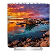 Candy Skies Shower Curtain