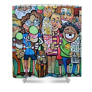 Candy Store Kids Shower Curtain
