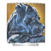 Cane Corso Shower Curtain by Lee Ann Shepard